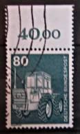 Briefmarke BRD 80 Pf. 1975 Michel 853 Mit Rand Industrie Technik Freimarke. - BRD