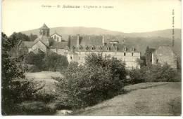 AUBAZINE - Corrèze (19) - L'église Et Le Couvent - Eglises Et Cathédrales