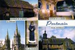 53  PONTMAIN La Grange La Basilique Notre Dame De Pontmain L'Eglise Paroissiale - France