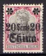 Deutsche Post In China Mi 32, Gestempelt [030313IV] @ - Bureau: Chine