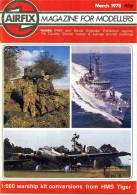Airfix Magazine March 1978 - Groot-Britannië