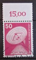Briefmarke BRD 50 Pf. 1975 Michel 851 Mit Rand Industrie Technik Freimarke. - BRD