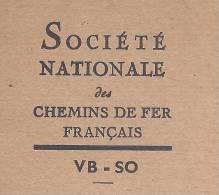 CHEMINS DE FER Sncf MEMENTO CONCERNANT LES APPAREILS ELECTRIQUES SUR LES VOIES 20 PAGES AVEC CROQUIS 1950 (?)  BON ETAT - Transports