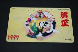 JAPAN  Telefonkarte   Gebraucht   1997 - Giappone