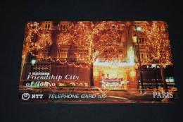 JAPAN  Telefonkarte   Gebraucht   Friendship City Of TOKYO - Giappone