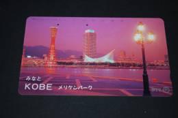 JAPAN  Telefonkarte   Gebraucht   KOBE - Giappone