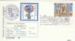 Rep. Osterreich - 21.Weihnachtsballonpost- D ERGEE VI - Christkindl 5/12/1981 (RM0541) - Airships