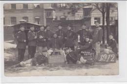 Nach Der Heimath! - 1912 Aus Stettin / Rückseite Voller Haftstellen - War 1914-18
