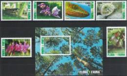 FLORE ET FAUNE - FAUNA & FLORA - OISEAU/BIRD - ORCHIDÉES/ORCHIDS - CUBA - MNH SET + SOUVENIR SHEET/NEUFS*** - Ungebraucht
