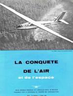 Magazine LA CONQUETE DE L'AIR ET DE L'ESPACE - 03-1963 -  Pub.  F.N. HERSTAL - BOEING - SABCA   (3118) - Aviation