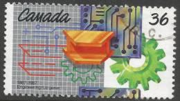 Canada. 1987 Centenary Of Engineering Institute Of Canada. 36c Used - 1952-.... Reign Of Elizabeth II