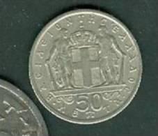 GRECE Greece - 50 LEPTA - 1966  - Peib5308 - Grèce