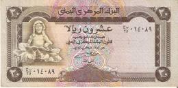 BILLETE DE YEMEN DE 20 RIALS    (BANKNOTE) - Yemen