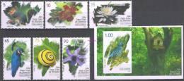 FLORE ET FAUNE - FAUNA & FLORA - ORCHIDÉE/ORCHID - OISEAUX/BIRDS - CUBA 2012 - MNH SET + SOUVENIR SHEET/NEUFS*** - Ungebraucht