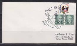 = Etats Unis Jul 22 1978 Gossamer Condorer - Luftpost