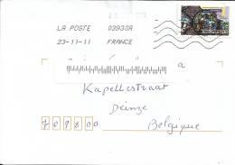 France 2011 La Poste >> Belgique / Non Taxée / Bourges Cathédrale - France