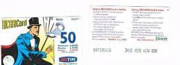 TIM ITALIA - RICARICAT (10^ ED.) 1015 - MANDRAKE (6) SC.  LUG. 2000  (OCR 18)  - USATA RIF.CP - Italia