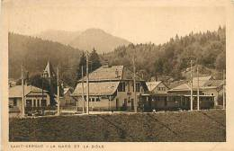 Fev13 792 : Saint-Cergue  -  Gare  -  Dôle - VD Vaud