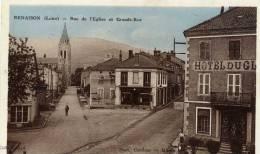 42- RENAISON- Rue De L´Eglise Et Grande Rue - France