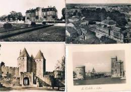 030313J Lot De 170 CPSM Glacées Noir/Blanc (années 1950) FRANCE Divers - 100 - 499 Postcards