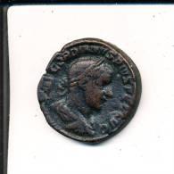 Gordien Sesterce A Buste De Gordien R Mars Debout Marchand - 5. L'Anarchie Militaire (235 à 284)