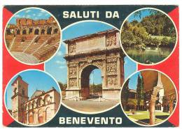 E2025 Saluti Da Benevento - Multipla / Viaggiata 1977 - Benevento
