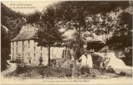 25/CPA - Nans Sous Sainte Anne - La Source Du Lison - Le Nouvel Hotel - Autres Communes