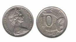 AUSTRALIA - 10 Cents  (ver Años - Looks Years ) - Moneda Decimale (1966-...)
