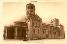 63/CPA - Issoire - L'Eglise St Paul - Issoire