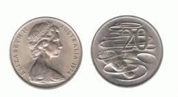 AUSTRALIA - 20 Cents  (ver Años - Looks Years ) - Moneda Decimale (1966-...)