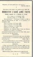 Souv.mort. Abbé Aimé Theys Né à Jumet 1859, Curé à Leernes, Fleurus, Prof. à Kain, M. S. Marchienne, La Louvière Dcd 19 - Devotion Images