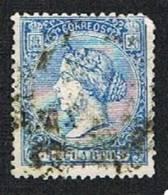 Ed. 81 Isabel II 4 Cuartos Usado - Oblitérés
