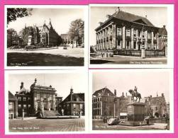 Den Haag - Animée - Prison Gate - La Cour De Justice - Le Palais - Monument Galerie - Place - 10 Snapshots  9 X 7 Cm - Den Haag ('s-Gravenhage)