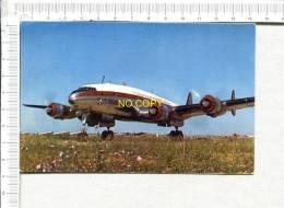 """LOCKHEED  """" CONSTELLATION """"  -  De La  Cie Générale De Transports Aériens   AIR ALGERIE - 1946-....: Moderne"""