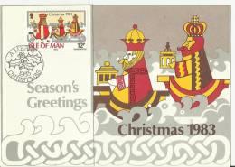 =MAN  Weihnachten,Christmas 1983 - Isola Di Man