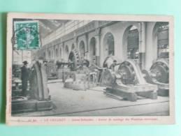 LE CREUSOT - Usines SCHNEIDER - Atelier De Montage Des Machines Electriques. - Le Creusot