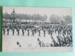 PARIS , Le 26 Mai 1911, Funérailles Nationales De Mr BERTEAUX , Ministre De La Guerre - France