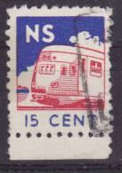 Netherlands Train-letter-stamp 1946 - Treni