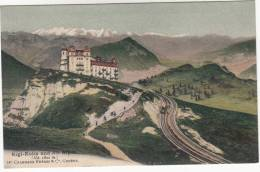 CPA Rigi Kulm Un Die Alpen (pk9462) - SZ Schwyz
