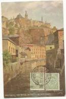 CPA Luxembourg - Luxembourg - Ville-Basse Du Grund Et Ville-Haute - Luxemburgo - Ciudad