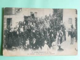 NANTES - La Guerre Européenne De 1914 - Arrivée Des Prisonniers Allemands - Nantes