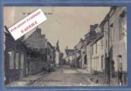 Carte Postale 51. Baye  Grande Rue Trés Beau Plan - France