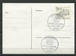 Germany 1975 Postal Card  Special Cancel Cuxhaven - [5] Berlin
