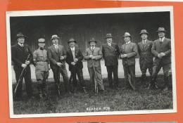 U191, Kloten, 1934, Militaire, Soldat, Chasseur, Armée,  Signatures Au Dos De La Carte, Circulée 1934 - ZH Zurich