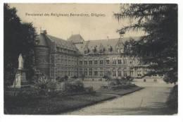 Ollignies - Woelingen (Lessines - Lessen). Pensionnat Des Religieuses Bernardines. Timbre N° 110. Cachet 1913. - Lessines