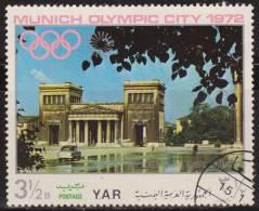 Yemen 1970 Michel 1236 Sello * Munich Juegos Olimpicos Monumentos The King's Square 3 1/2 Bogshahs Yemen Stamps Timbre - Yemen