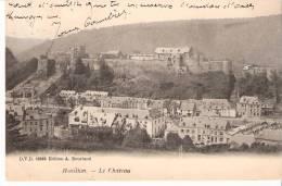 Bouillon-Semois-1908- Le Château-Belle Vue De La Ville- Pas Courante- Edit.A.Bourland D.V.D. 12893 - Bouillon