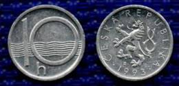 REPUBBLICA CECA  10 Haleru 1993. # 1975. - Tsjechië