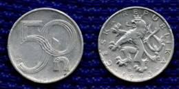 REPUBBLICA CECA 50 Haleru 1993. # 1975. - Tsjechië