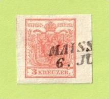 AUT SC #3  1850 Coat Of Arms, CV $4.00 - 1850-1918 Empire